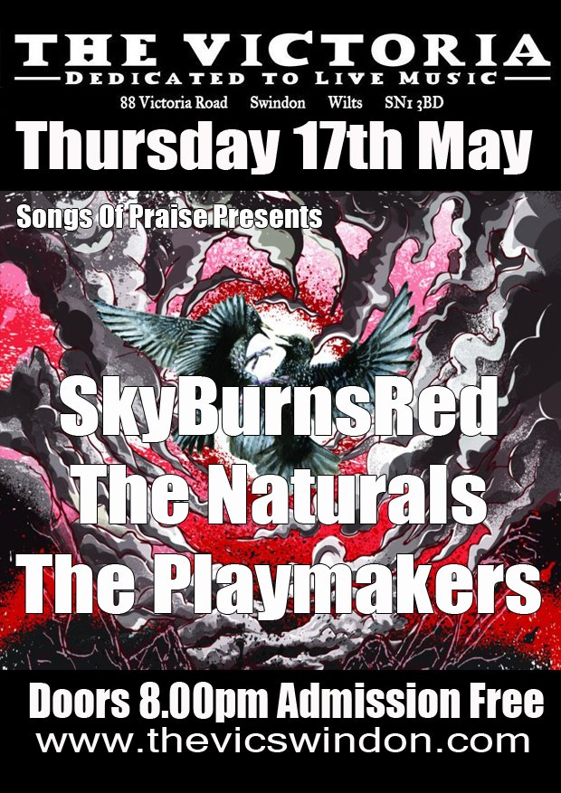 Songs of Praise: SkyBurnsRed, The Naturals and The Playmakers - 17th May